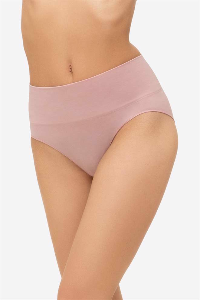 Rose high waist maternity panties - Front view
