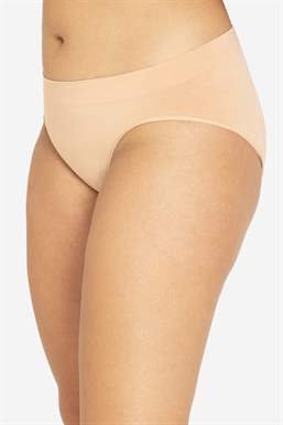 Nude Maternity panties in soft bamboo fibres - Organically grown - front view